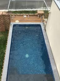 Top view Rectanlge Australian Plunge Pool