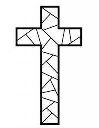 Small Picture Free Printable Cross Coloring Pages Free printable Sunday