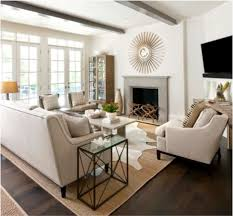 regardless of the style color or pattern the placement of furniture on top of the rug and the scale of the rug are key to a successful design