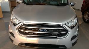 2018 ford ecosport colors. 2018 new ford ecosport trend plus moon dust silver colour first look walkaround !! ecosport colors