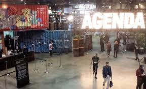 the view from the jansport lounge at agenda long beach