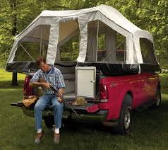 A truck camper pop up tent. Awesome idea. | Fun - MEP - Camping ...