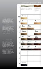 Color Tango Color Chart Irresistible Wella Pages 1 8 Text Version Anyflip
