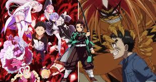 anime to watch if you love demon slayer