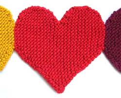 Knitted Heart Pattern Delectable ODDknit Free Knitting Patterns Banner Of Hearts