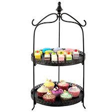 Pie Display Stand Stunning Amazon 32 Tier Pie Cake Round Serving Display Stand Black