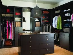 walk in closet with artful organization
