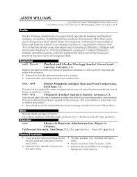 Great Resume Format Unique Great Resume Formats Administrativelawjudge