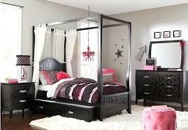 Tween Bedroom Sets Picture Of Belle Dark 6 Full Canopy Bedroom From ...
