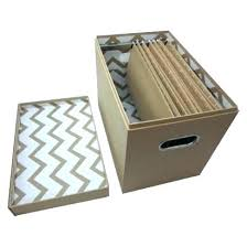 Decorative Hanging File Box