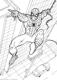Spiderman Coloring pages | Kids coloring pages | Free coloring pages ...