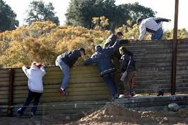 Image result for illegal immigrants coming across mexican border