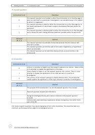 bioknowledgy extended essay marking rubric number 2