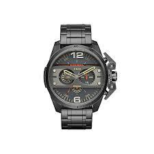 diesel mens ironside gunmetal dial bracelet watch h samuel diesel mens ironside gunmetal dial bracelet watch product number 3745694