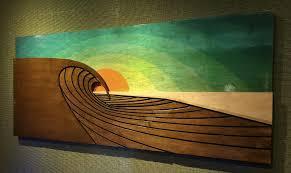 laa beach california surf art guide
