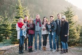 Christmas Tree Farm Family Shoot By Alissa Saylor Photography Christmas Tree Farm Family Photos