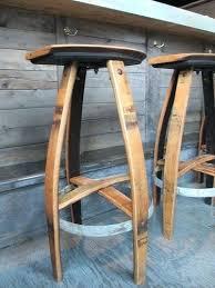 wine barrel bar plans. Wine Barrel Bar Stools Stool Plans .