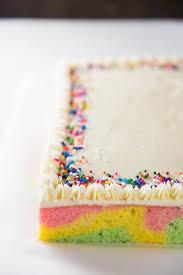 Ribbon Cake Swirled Pastel Cake The Flavor Bender