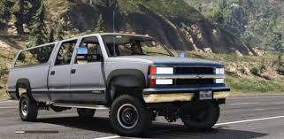 Chevrolet Silverado 3500 LS Crew Cab 4x4 1999 [Add-On | Replace ...