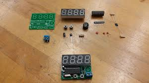 picture of components of the clock