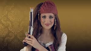 women s pirate costume makeup tutorial