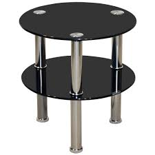 Glass Round Side Table Narrow Side Table Glass After I Brought This Coffee Table Home An