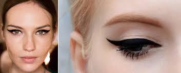 wedding makeup inspiration cat eyes