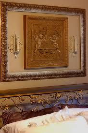 diy picture frame ideas for decorating 1 shows framed artwork over bed