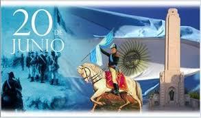 Resultado de imagen para dia de la bandera argentina