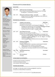 Best 2 Page Resume Templates Word Free Examples Of S Format One
