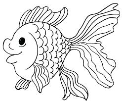 Cartoon Fish Coloring Page 1 Templates Coloring Cartoon Fish