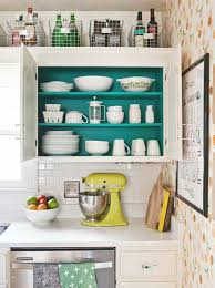 decorating above kitchen cabinets. Photo By: A Beautiful Mess Decorating Above Kitchen Cabinets