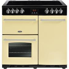 electric cooking stoves. Beautiful Electric Electric Cooking Stoves Belling Farmhouse90e 90cm Range Cooker  With Ceramic Hob  Cream A Intended Electric Cooking Stoves E