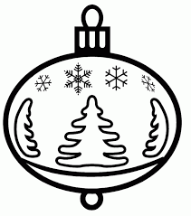 Small Picture Best Collections of Free Christmas Ornaments Coloring Pages