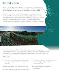Company Profile - Tranen Revegetation Systems