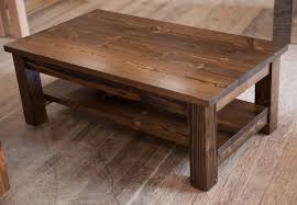wooden coffee tables. Awesome Rustic Wood Coffee Tables With Table Mission Solid Style Wooden D