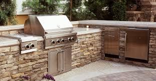 l shaped split level outdoor kitchens the green scene sworth ca