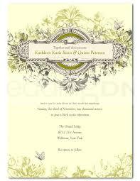 Template A5 Invitation Template Free Vintage Wedding Templates