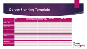 A Career Path And Plan Putting Moving On Up Into Practice