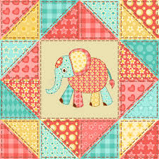 Elephant quilt pattern stock vector. Illustration of lovely - 34616752 & Download Elephant quilt pattern stock vector. Illustration of lovely -  34616752 Adamdwight.com