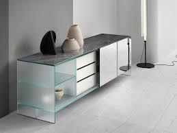 satin glass sideboard with sliding doors shoji sideboard with sliding doors by tonelli design