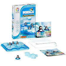 <b>Логическая игра Bondibon Мини</b>-<b>пингвины</b>, арт. ВВ1884