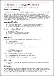Sample Resume Format For Hotel Industry Resume Sample For Hotel Management Graduate Awesome Photography It