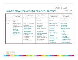 new hire training plan template. orientation program template vlogsmediaco