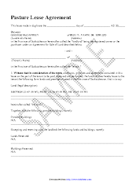 Permalink to Simple Pasture Lease Agreement Form / 37 Free Land Lease Agreements Word Pdf ᐅ Templatelab / Available for pc, ios and android.