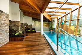 Swimming season: Indoor pools win. On a hot, sunny day, you can enjoy the  beautiful blue sky and bask in the sun's glory. On a cold, wintry day, ...