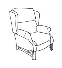 chair drawing easy. exellent chair drawing century english chairs s with design decorating table and easy