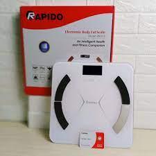 Giá tốt nhất] Cân sức khỏe Rapido RSF-01S đo được 8 chỉ số cơ thể