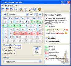 Ovulation Chart Boy Girl Jx Ovulation Calendar Personal Ovulation Calculator