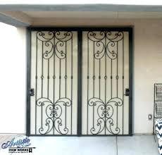 security screen door double security door screen door patio door swinging door steel security door picture